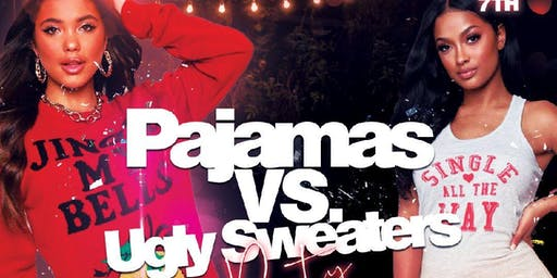 Pajamas vs Ugly Sweaters Party ❄️