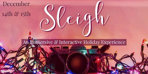 Sleigh: an Immersive & Interactive Holiday Experience
