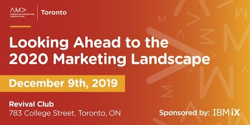 Looking Ahead to the 2020 Marketing Landscape