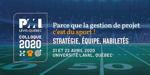 Colloque en gestion de projet PMI Lévis-Québec 2020