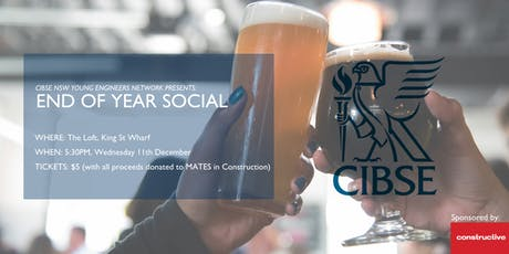 CIBSE YEN - End of Year Social  Networking!!!!! tickets