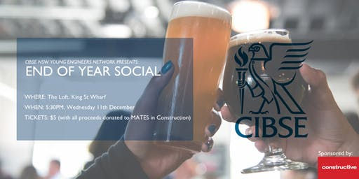 CIBSE YEN - End of Year Social  Networking!!!!!