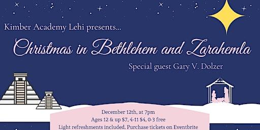 Christmas in Bethlehem and in Zarahemla