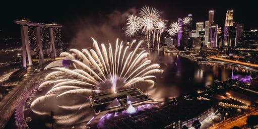 Marina Bay Singapore Countdown 2020