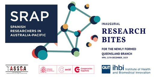 Research bites with SRAP : First QLD meeting and reception.