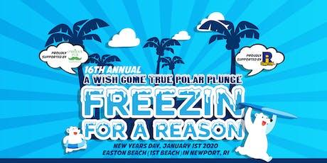 "A Wish Come True's 16th Annual Polar Plunge - ""Freezin for a Reason"" tickets"