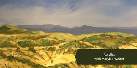 Acrylics with Maryika Welter (Wed, 8 Week Course) tickets