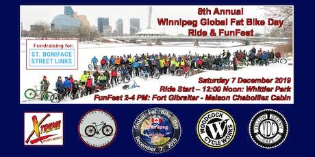 FunFest Ticket for the 2019 Winnipeg Global Fat Bike Day Ride & FunFest tickets