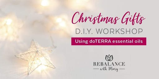 DIY Christmas gifts with dōTERRA