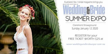 Western Australia Wedding & Bride Summer Bridal Expo tickets