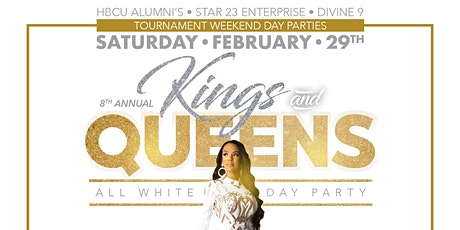 KINGS & QUEENS ALL WHITE DAY PARTY tickets