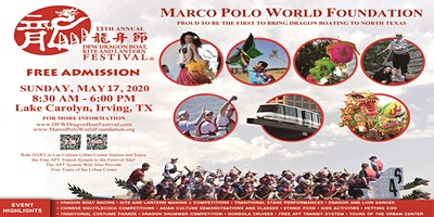 13th Annual DFW Dragon Boat, Kite and Lantern Festival