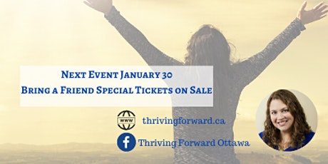 Thriving Forward - Community Gathering for Women - January tickets
