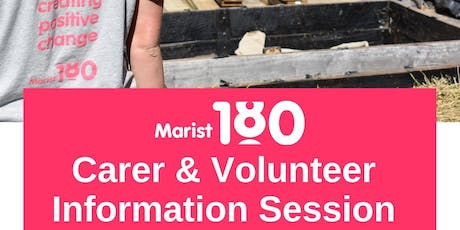 Marist180 Respite Carer and Volunteer Information Evening tickets