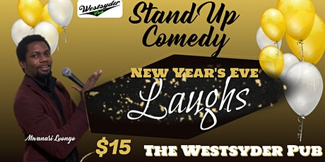 New Year's Eve Laughs tickets