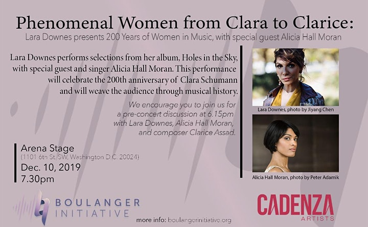 Phenomenal Women from Clara to Clarice image