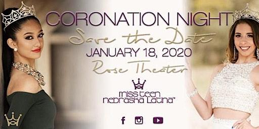 Miss Nebraska Latina 2020 - Coronation Night