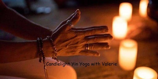 Candle light Yin Yoga Workshop