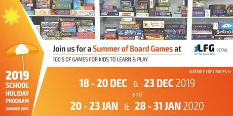 LFG School Holiday Program: Term 4 2019 tickets