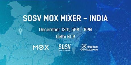 SOSV MOX Startup Mixer - Delhi NCR tickets