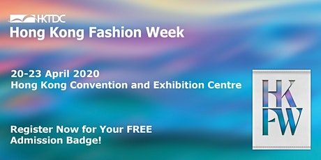 HKTDC Hong Kong Fashion Week tickets