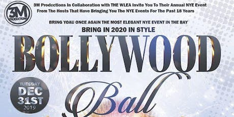 Bollywood Ball 2020 - NYE Celebration tickets