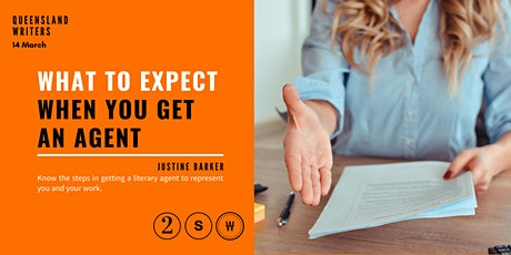 What To Expect When You Get An Agent with Justine Barker tickets