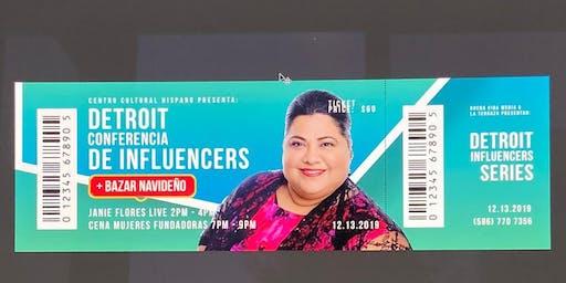 Conferencia de Influencers +Bazar Navideño