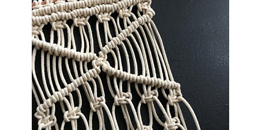 Beginning Macrame- Create a Big Fancy Wall Hanging!  (2020-01-30 starts at 7:00 PM)