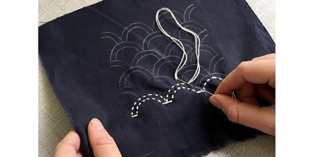 Sashiko Mending for Decoration and Denim Repair with Jenny Lemons (2020-01-06 starts at 7:00 PM) tickets