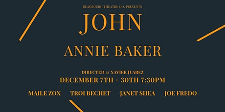 JOHN by Annie Baker tickets