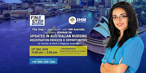 Updates in Australian Nursing Registration Process