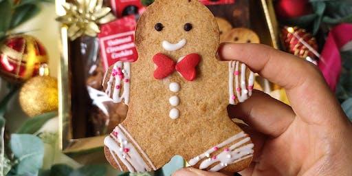 Children's Gingerbread cookie class