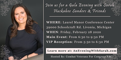 An Evening With Sarah Sanders & Friends