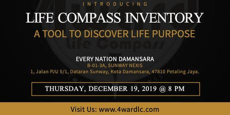 Life Compass: a tool to discover Life Purpose tickets