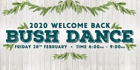 Welcome Event- Bush Dance tickets