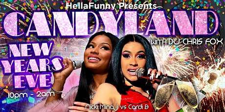Candyland: A New Years Eve Mash-Up Hip Hop and R&B Party (with Free Pizza)! tickets