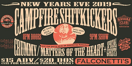 Campfire Shitkickers present: A THRIFT-STORE FORMAL NYE tickets