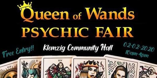 Queen of Wands Psychic Fair at Klemzig