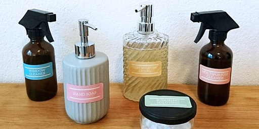 Make your own cleaning products with essential oils