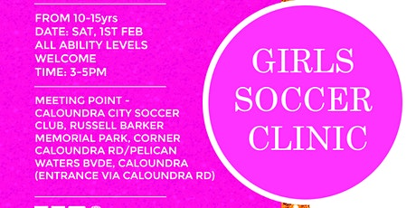 SOUL2SOULATHLETE GIRLS SOCCER CLINIC (10-15YRS)  tickets