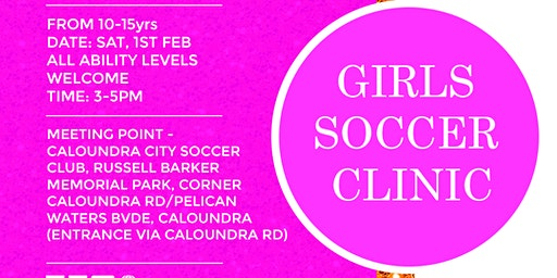 SOUL2SOULATHLETE GIRLS SOCCER CLINIC (10-15YRS)