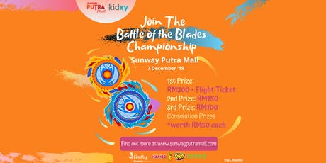 Battle of the Blades Championship - Sunway Putra Mall tickets