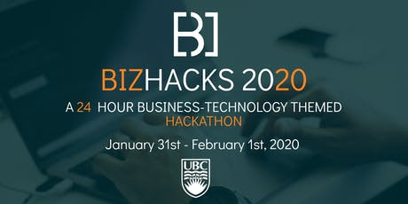 BizHacks 2020 tickets