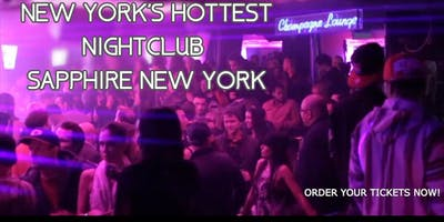 VIP Experience at New York's Hottest Nightclub: Sapphire NYC