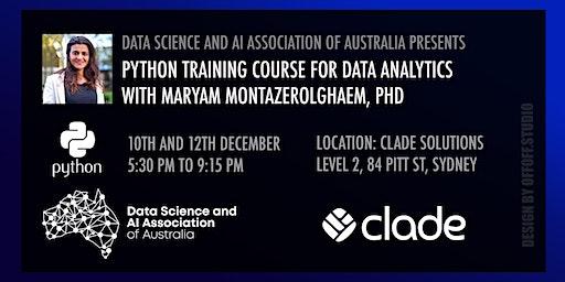 Python Training Course for Data Analytics