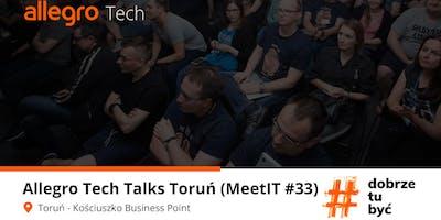 Allegro Tech Talks Toruń #33