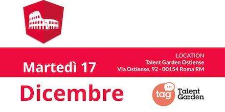 Angular Roma - MeetUp @Talent Garden Ostiense biglietti