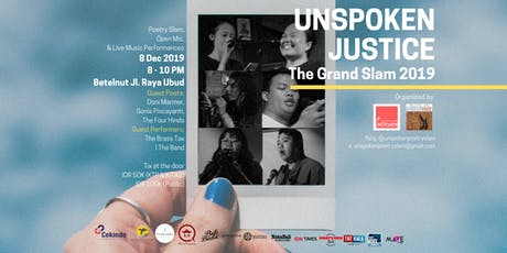 The Grand Slam 2019: Unspoken Justice tickets