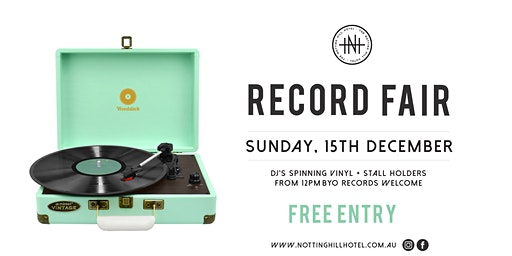 Copy of NHH Record Fair - SundayDecember 15th